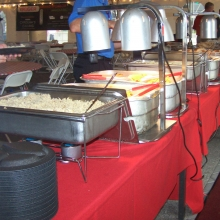 Buffet Line at Catering