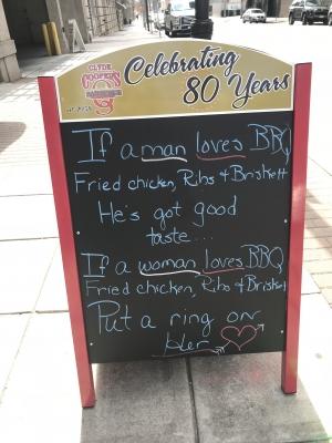 Good Taste in BBQ & in Women