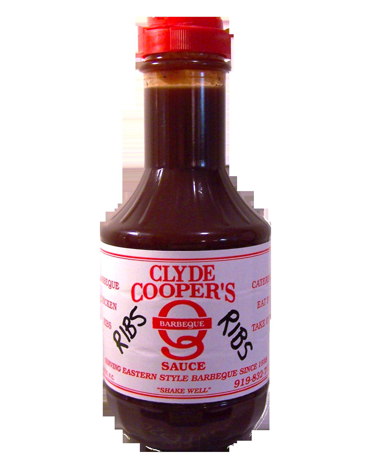 Buy Clyde Cooper's BBQ Sauce, Rib Sauce, Clyde Cooper's ...