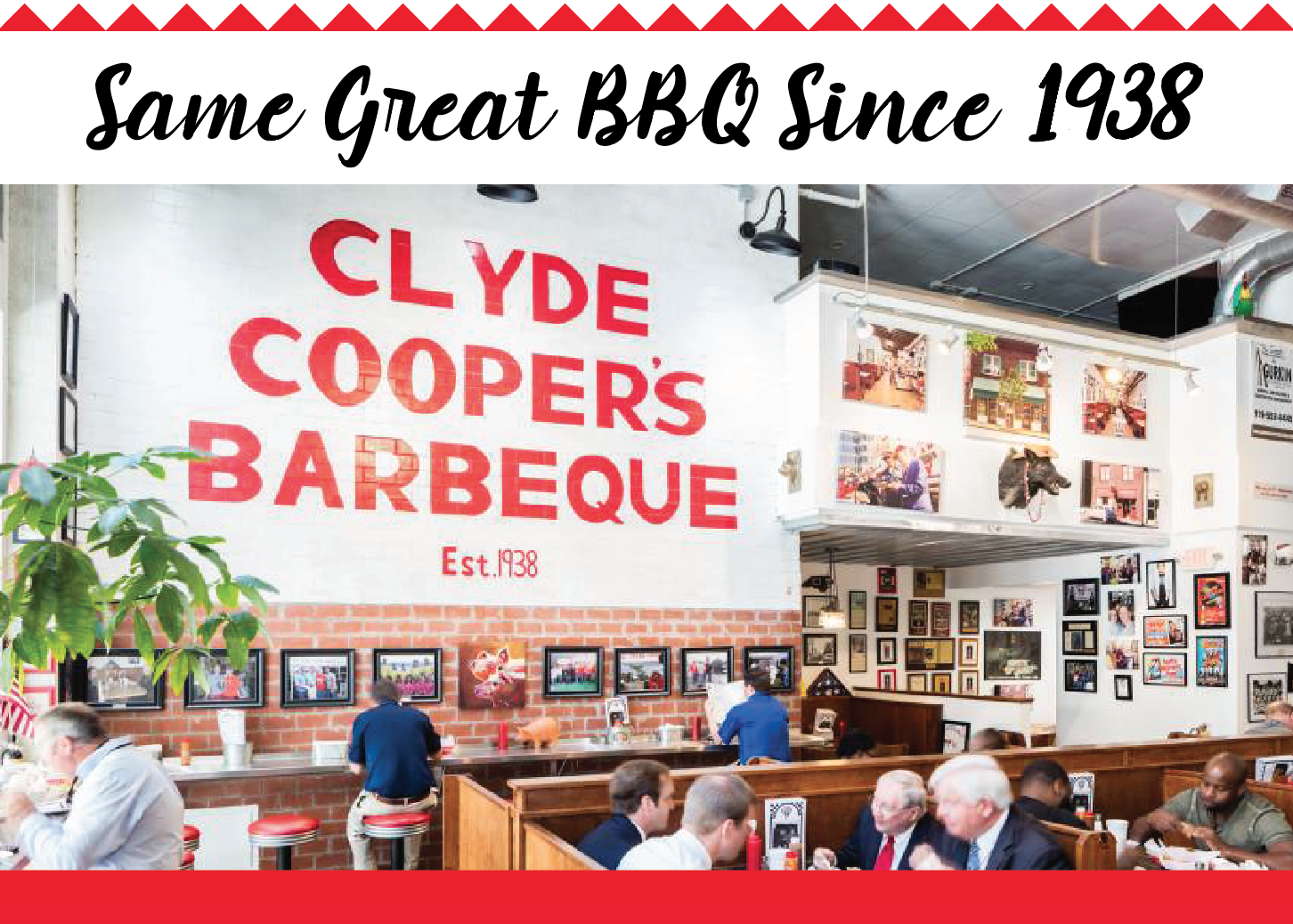 Clyde Cooper's BBQ, Raleigh, NC