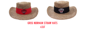 clyde cooper's bbq straw hats