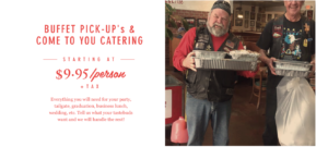 buffet pick up bbq catering